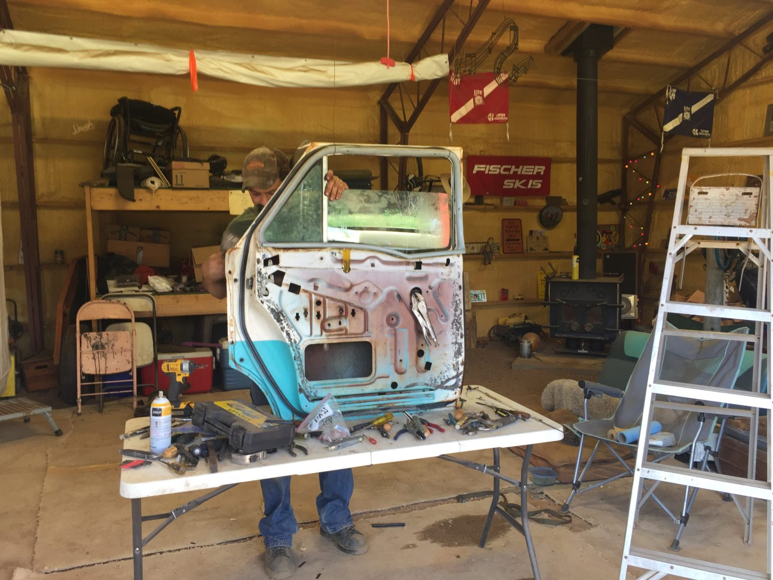 june 2017 - february 2021 - jerry's 1958 chevy brookwood wagon